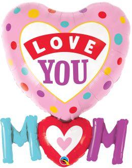 Supershape Love You Mom Dots