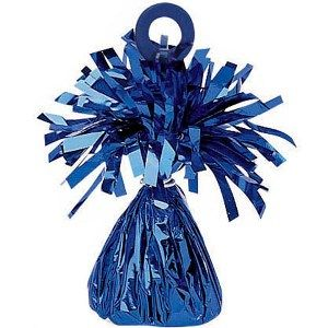 Blue Foil Balloon Weight