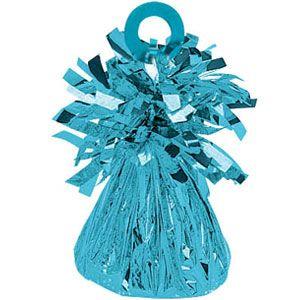 Light Blue Foil Balloon Weight