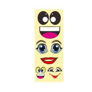 Cartoon Eyes Stickers