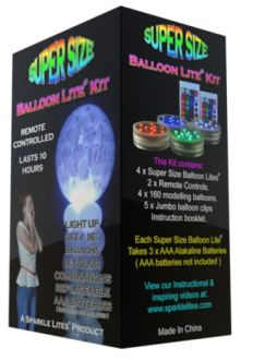 Super Size Balloon Lite Kit