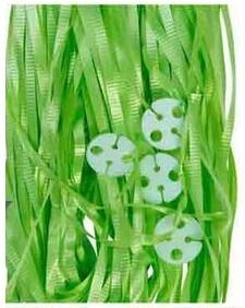 Pre-Cut Balloon Ribbon Lime Green (50pcs)