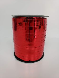 Balloon Ribbon - Metallic Red