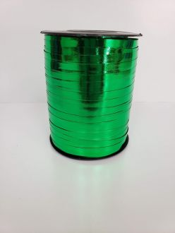 Balloon Ribbon - Metallic Green