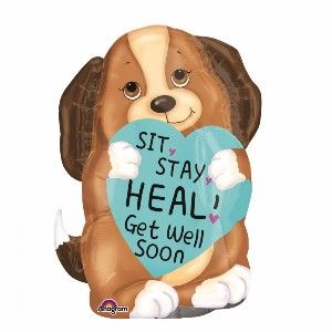 Encourage a Rapid Recuperation with Get Well Soon Balloons