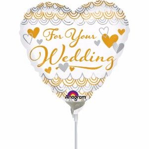 How to Choose Wedding Anniversary Balloons for Your Big Day
