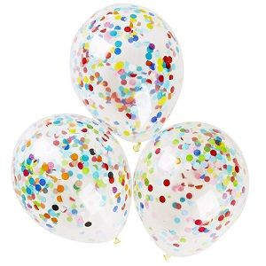 Sparkle Your Evening with Confetti Birthday Party Balloons