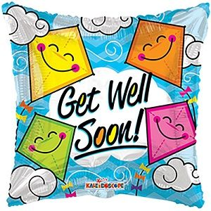 Get Well Soon Balloons - Expressions of Care Beyond Words